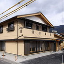 自社設計施工のひのきを使った住宅