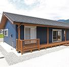 自社設計施工のひのきを使った平屋住宅